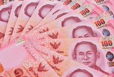 Thai banknotes or bills Royalty Free Stock Photo