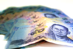 Thai Banknotes, fifty baht Royalty Free Stock Photos