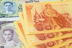 Thai banknotes Royalty Free Stock Photography