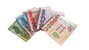 Thai banknotes Royalty Free Stock Photography