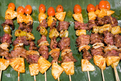 Thai barbecue Stock Images