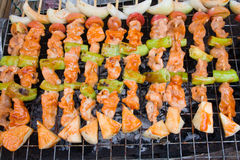 Thai barbecue Stock Photography