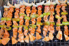 Thai barbecue Royalty Free Stock Photo