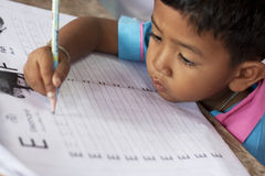 thai barndagis Arkivbilder