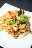 Thai Basil fried rice. Stock Images