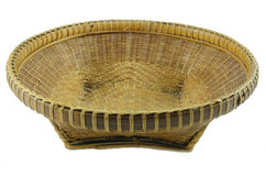 Thai basket can contain things. Thai wooden basket can contain things Stock Photography