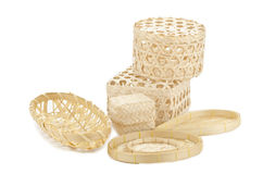 The Thai basketry Royalty Free Stock Photography