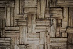 Thai basketry. Old texture stock images