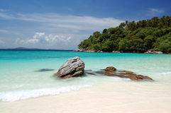 Thai beach Royalty Free Stock Photo