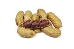 Thai beans. Thai peanuts is general sale in market Royalty Free Stock Image