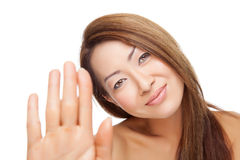 Thai beauty with perfect skin Stock Photo
