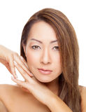 Thai beauty with perfect skin Stock Image