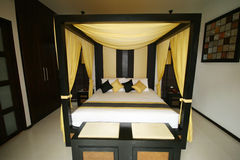 Thai bedroom. Stock Images