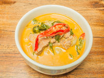 Thai beef green curry Royalty Free Stock Image
