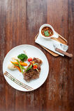 Thai beef steak Royalty Free Stock Photography
