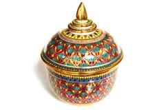 Thai benjarong porcelain Stock Photos