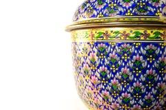 Thai benjarong porcelain Stock Photography