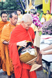 Thai Bhuddist Way Royalty Free Stock Photo