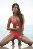 Thai Bikini Model Royalty Free Stock Photo