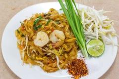Thai block (den thai matgatan) Royaltyfri Fotografi