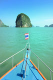 Cruise thai boat on Andaman Sea Thailand Royalty Free Stock Image
