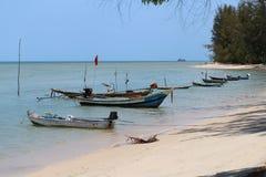 Thai boat on the sea shore Stock Image