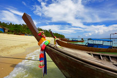 Thai boats Royalty Free Stock Images
