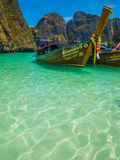 Thai longboats Royalty Free Stock Images