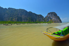 Thai boats Royalty Free Stock Photo