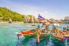 Thai boats Stock Photos