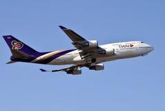 thai boing 747 Arkivfoto