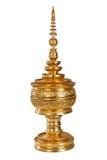 Thai box gold Royalty Free Stock Photos