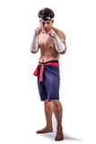 A thai boxer Royalty Free Stock Photos