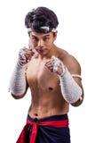 A thai boxer Royalty Free Stock Image