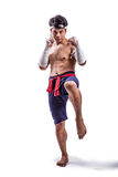 A thai boxer Stock Photos