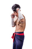 A thai boxer Stock Photography