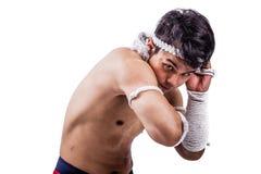 A thai boxer Stock Photos