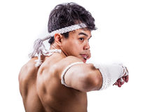 A thai boxer Royalty Free Stock Images