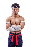 A thai boxer Stock Photo