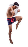 A thai boxer Stock Image