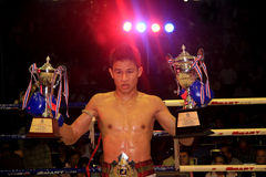 THAI BOXER Royalty Free Stock Image