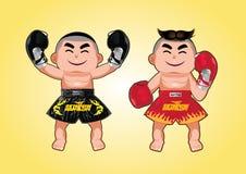 Thai Boxer Stock Photos