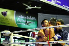 Thai Boxing Royalty Free Stock Photo
