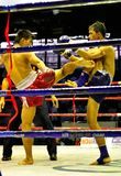 Thai Boxing stock photography
