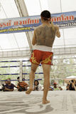 Thai boxing Royalty Free Stock Photo