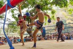 Thai boxing Royalty Free Stock Image