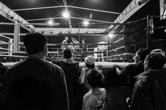Thai boxing event Royalty Free Stock Photos