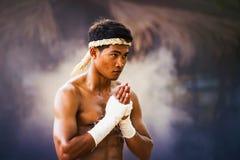 Thai boxing royalty free stock photos