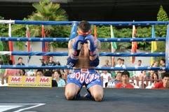 Thai Boxing Match Stock Photos