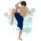 Thai boxing Muay Thai Stock Image